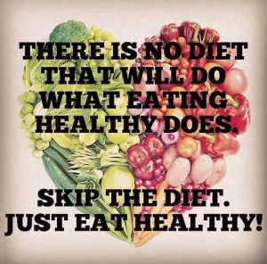 Just eat healthy